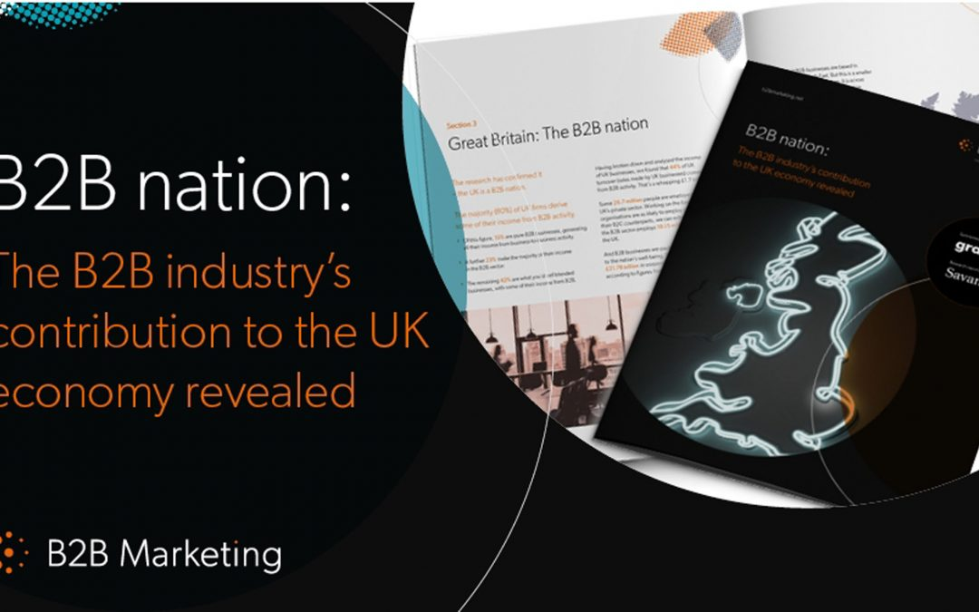 The B2B industry's contribution to the UK economy